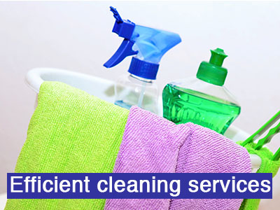 Efficient cleaning services